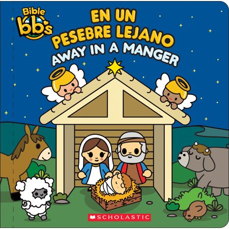 Bible Bb's: Away in a Manger / En Un Pesebre Lejano (Away In A Manger Sheet Music Descant)