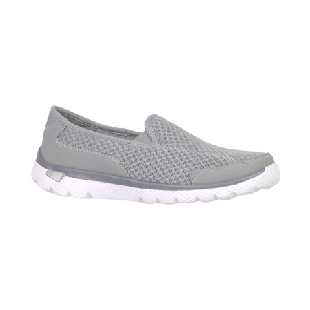 Danskin Now Womens Athletic Knit Slip On Shoe