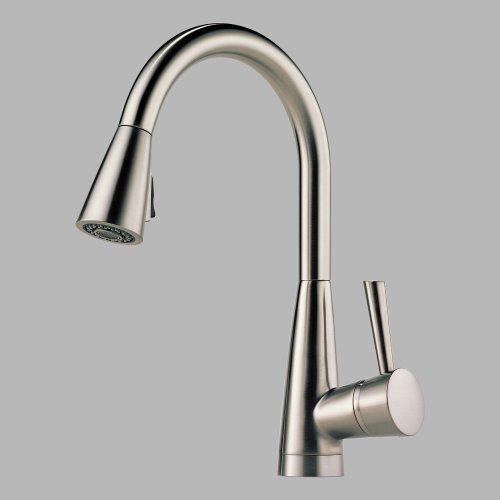 brizo kitchen faucet kitchen brizo faucet 62525lf brizo two handle bridge kitchen faucet with spray