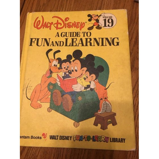 Walt Disney Fun To Read Library Volume 19 Aguide To Fun And Learning