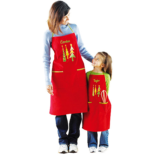 Personalized Youth Christmas Apron