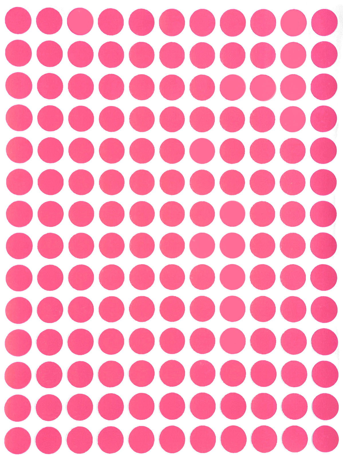 Colour Code Dots Round Stickers Sticky ID Labels 1//2 Inch 100 Light Pink 13mm