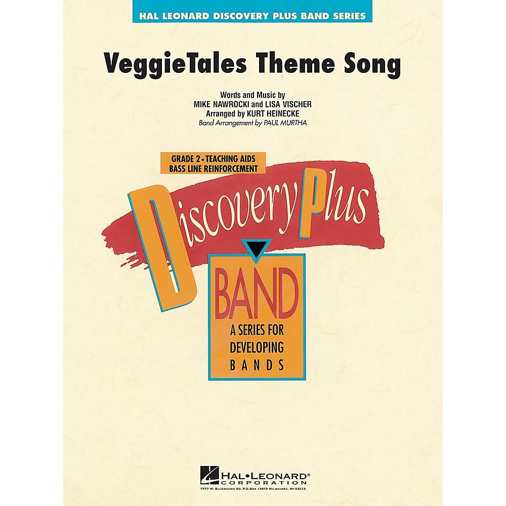 Hal Leonard VeggieTales Theme Song - Discovery Plus Concert Band Series Level 2 arranged by Paul Murtha