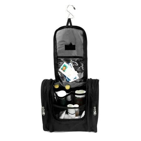 Large Hanging Travel Toiletry Bag for Men and Women Makeup Organizer Bags Shaving Kit Cosmetic