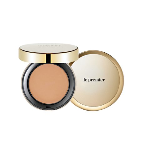 Enprani Le Premier Skin Cover Pact SPF30 (No.23 Natural Beige) 0.49oz/14g x (Spin Cover)