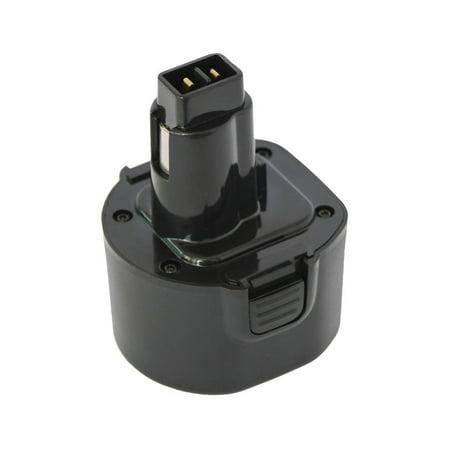 Replacement Dewalt DE9036 Battery for DeWalt DW9072, DC742KA, DC528, DW9098, DW953, DW970, DC9071, DW904, DW9099, DCD910KX, DC9099, DW979, DW972, DW980, DC740, DW930,DW965,DC740KA(1300mAh,9.6V,NICD) - image 1 of 2