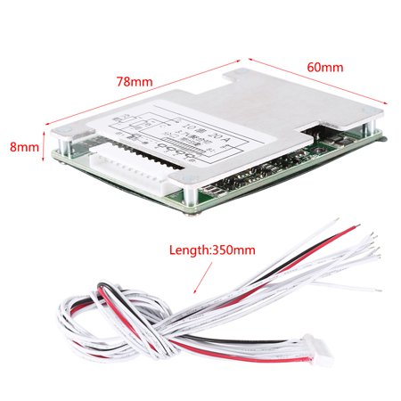 Ejoyous 36V 20A 10S Lithium Li-ion LiFePO4 Battery Battery BMS Protection  Board with Balancing , 10S Protection Board, Lithium Battery Protection