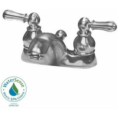 American Standard 7411.732.002 Hampton Centerset 1.5 GPM Lavatory Faucet with Metal Lever Handles and Metal Speed Connect Pop-Up Drain, Available in Various Colors American Standard Hampton Lavatory Faucet