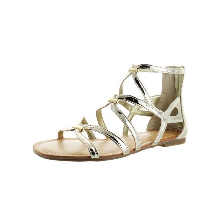 Carlos by Carlos Santana Womens Emma Open Toe Caged Gladiator - Gladiator Outfits For Womens