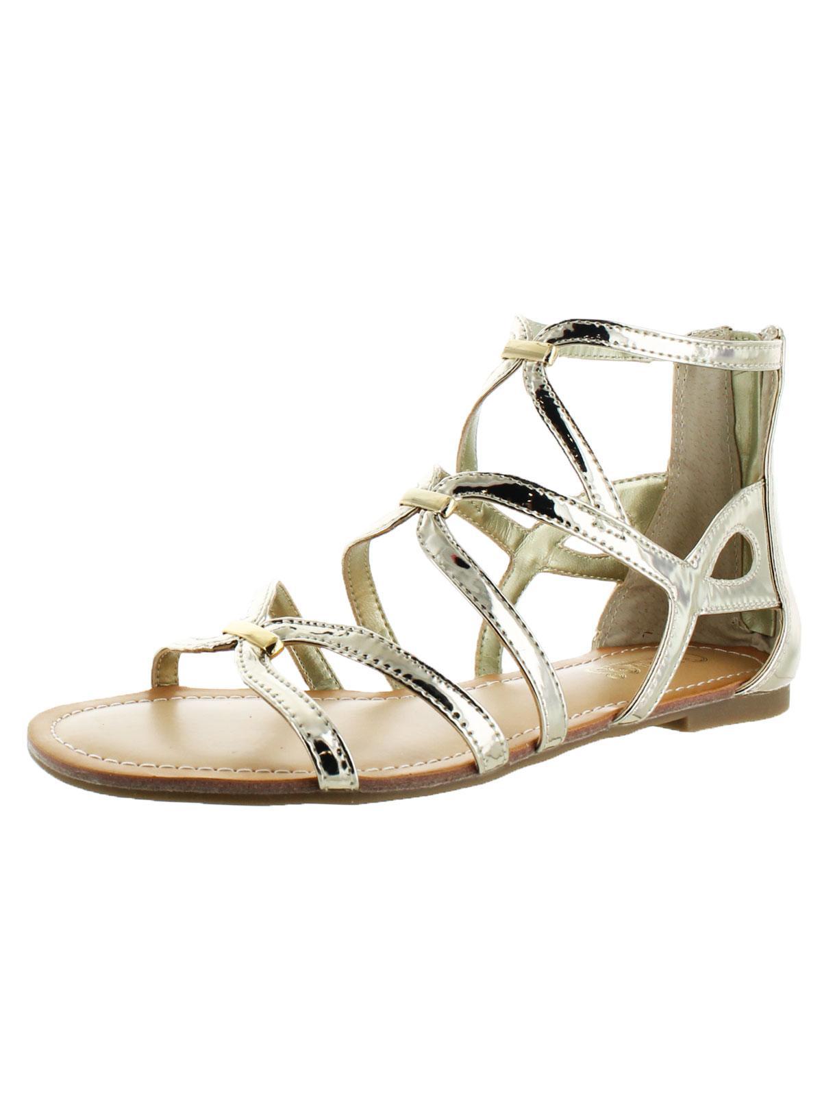 Carlos by Carlos Santana Womens Emma Open Toe Caged Gladiator Sandals