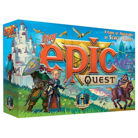 Tiny Epic Quest Fantasy Small Box Adventure Board Game Gamelyn (Quest Board Game)