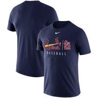 St. Louis Cardinals Nike MLB Practice T-Shirt - Navy