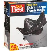 Presto Products 60ct 33 Gallon Trash Bag 628263