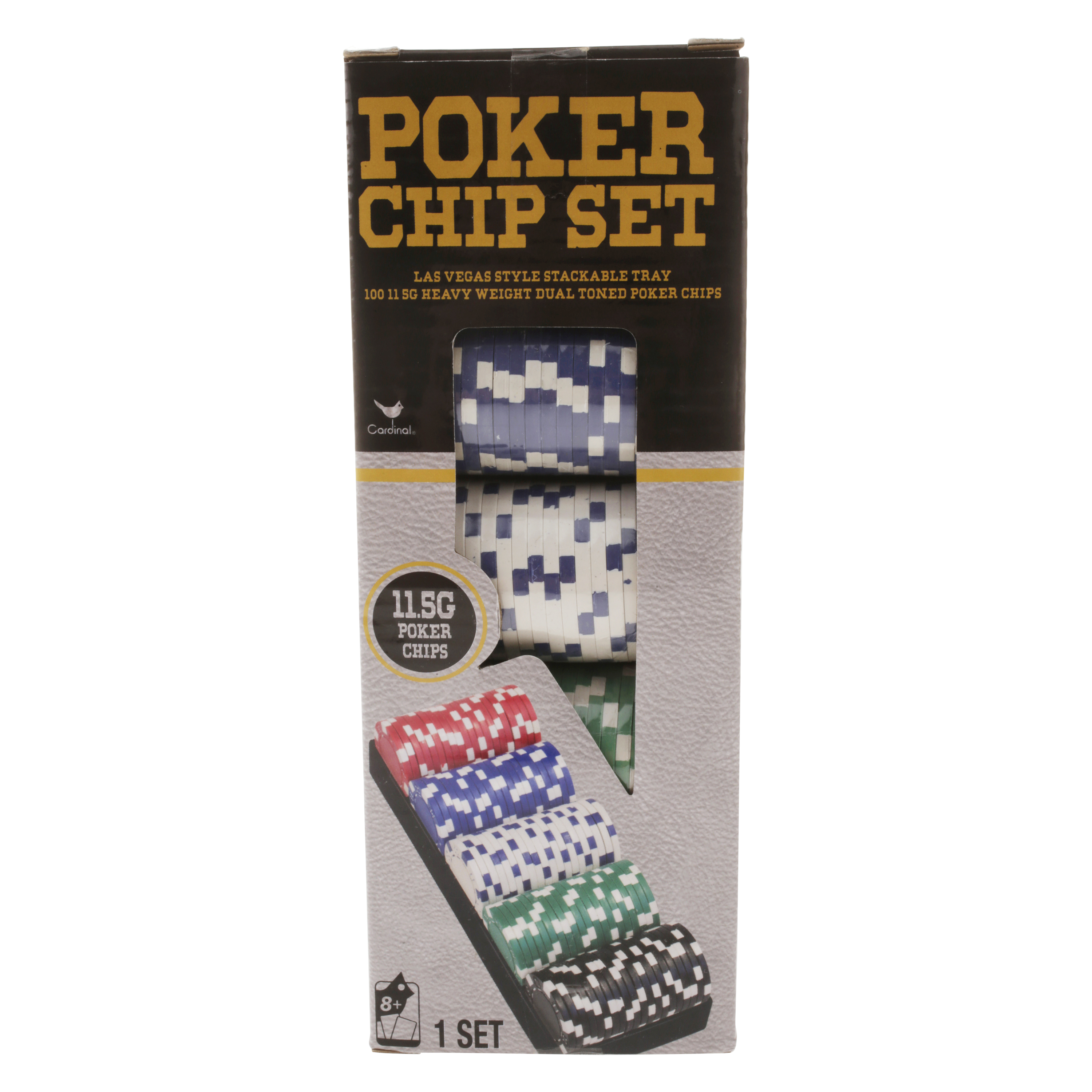 100pc Poker Set