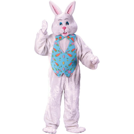 Bunny with Overhead Mask Adult Halloween Costume (Fluffy Bunny Halloween Costume)