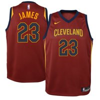 LeBron James Cleveland Cavaliers Nike Youth Swingman Jersey Maroon - Icon Edition