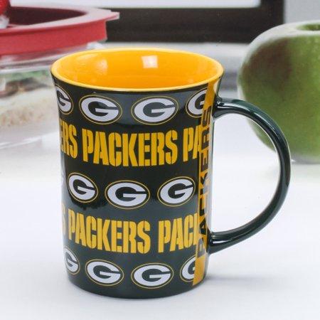 Green Bay Packers 15oz. Line Up Mug - - No Size