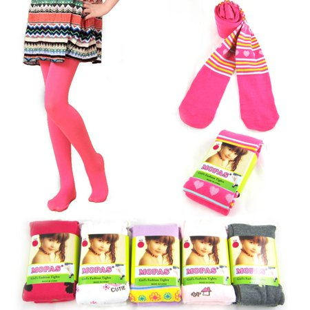 1 Pair Girls Pantyhose Kids Toddlers Stretch Socks Tights Leg Warmer Stockings (Stocking Legs)