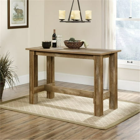 Bowery Hill Counter Height Dining Table in Craftsman Oak ()