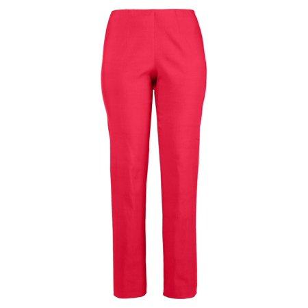 7f95dfa3be777 Ulla Popken Women s Plus Size Classic Stretch Bengaline Pants 615444 -  Walmart.com