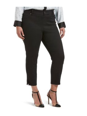 HUE Womens Plus Size Ultra Soft Denim Capri Leggings Style-U20487Q