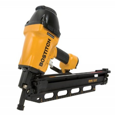 BOSTITCH F21PL Round Head 1-1/2-Inch to 3-1/2-Inch Framing Nailer with Positive Placement Tip and Magnesium