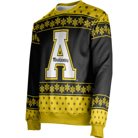 Men's Appalachian State University Ugly Holiday Snowflake Sweater (Apparel)