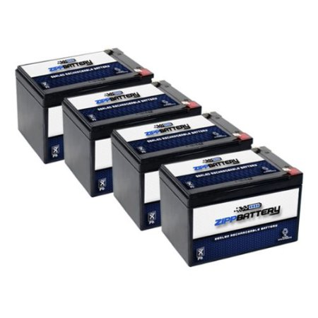 Chrome Battery 12V 14AH SLA Battery replaces cb12-12 np12...