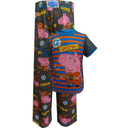 Nickelodeon Peppa Pig George Plays A Tune Toddler Pajamas - George Pig