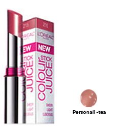 Loreal Colour Juice - Loreal Colour Juice Stick Sheer Light Lucious, Personali-Tea - 2 Each