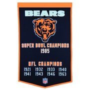 "Chicago Bears 24"" x 38"" Wool Dynasty Banner"