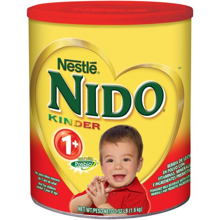 Nestle NIDO Kinder 1+ Whole Milk Powder 3.52 lb. Canister | Powdered Milk