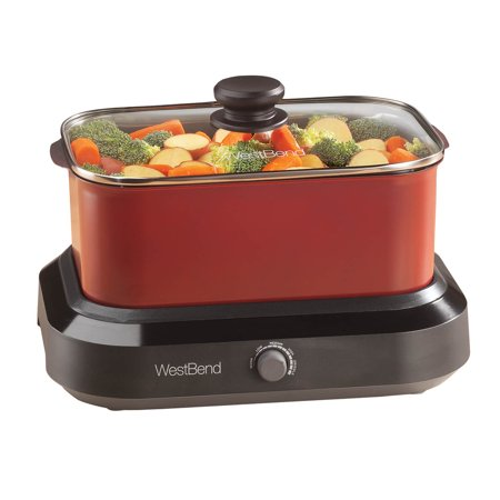 West Bend 5 Qt. Versatility CookerTM Red