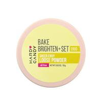 Hard Candy Sheer Envy Bake, Brighten & Set Loose Powder, Banana, 0.63 oz