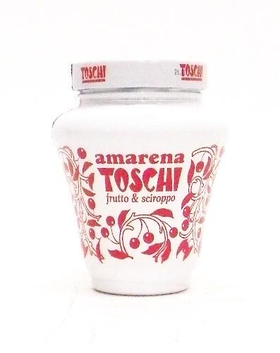 Amarena Toschi Italian Black Cherries in Syrup 17.9 Oz by Toschi