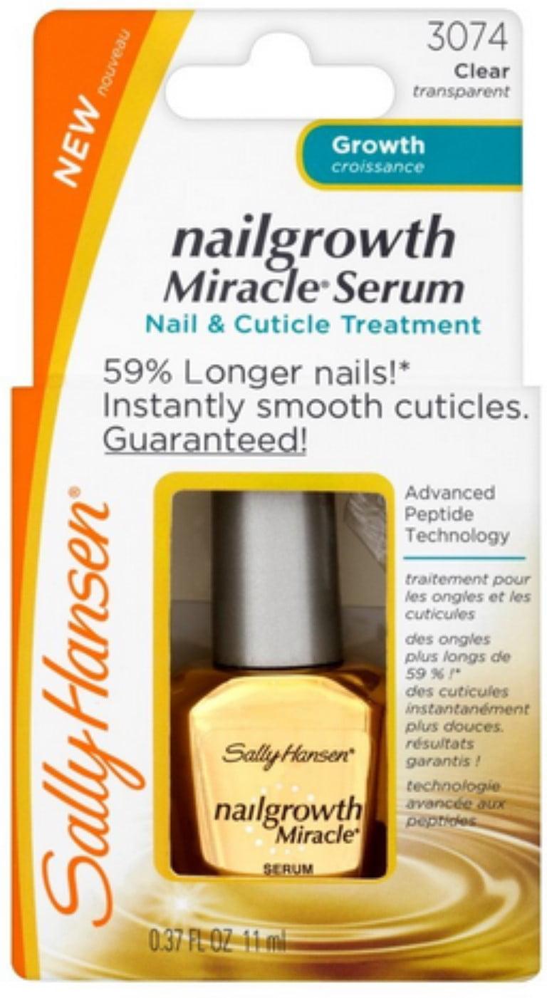 Sally Hansen Nailgrowth Miracle, Serum, 0.37 Fluid Ounce - Walmart.com