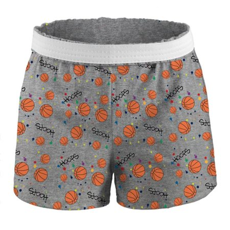 Juniors Printed Short Cctn, Splatter Basketball - Extra Small Extra Small Ball
