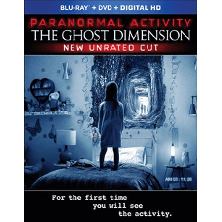 Paranormal Activity: The Ghost Dimension (Blu-ray) (Paranormal Activity Halloween)