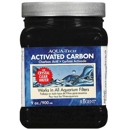Aqua Tech Activated Carbon Fish And Aquatic Pet Water Cleaner  9 Oz