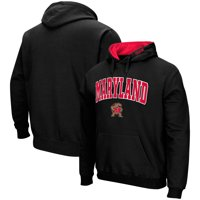 Maryland Terrapins Colosseum Arch & Logo Pullover Hoodie - Black