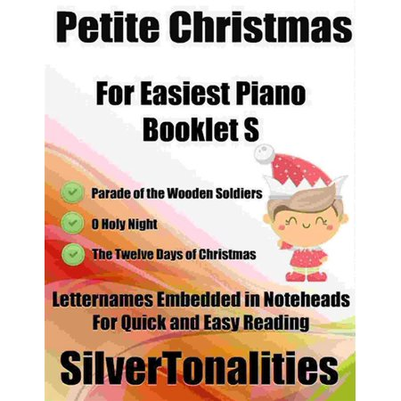 Petite Christmas for Easiest Piano Booklet S - eBook ()