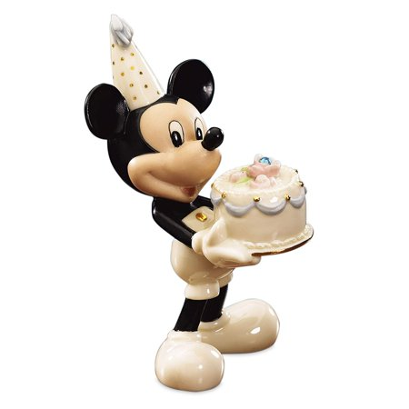 Lenox Birthstone Happy Birthday to You Mickey Mouse March Figurine (Mickey Mouse March)