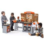 Step2 Pro Play Workshop & Utility Bench, Kids Pretend Play Workbench