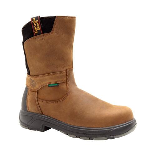 "Men's Georgia Boot G5644 FLXPoint Wellington Composite Toe 10"" by Georgia Boot"