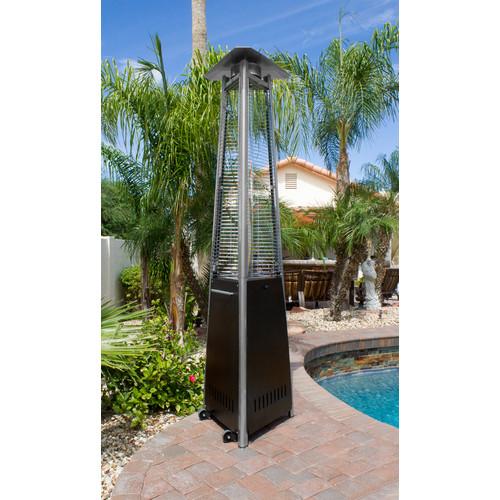 AZ Patio Heaters Commercial Glass Tube 38,000 BTU Propane Patio Heater by AZ Patio Heaters