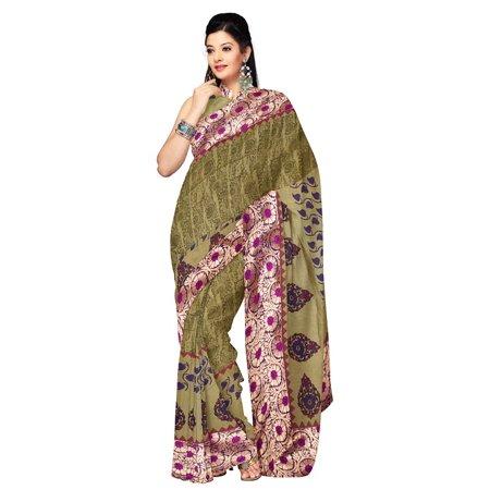 - LAMINATED POSTER Model Silk Clothing Woman Dress Fashion Saree Poster Print 24 x 36