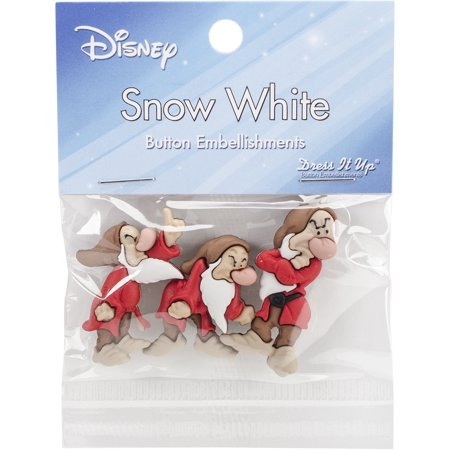Dress It Up Licensed Embellishments-Disney Grumpy - Snow Coming Dresses