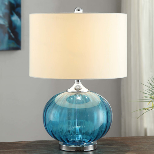 Crestview Collection Sea Side New Port 22'' H Table Lamp with Drum Shade