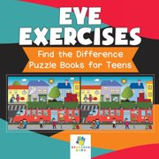 Eye Exercises Find the Difference Puzzle Books for Teens (Paperback)