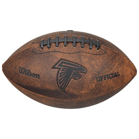 Gulf Coast Sales Atlanta Falcons Football - Vintage Throwback - 9 Inches